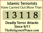 Thousands of Deadly Islamic Terror Attacks Since 9/11